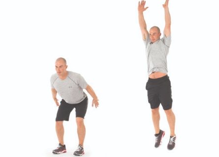 spot jump exercise image