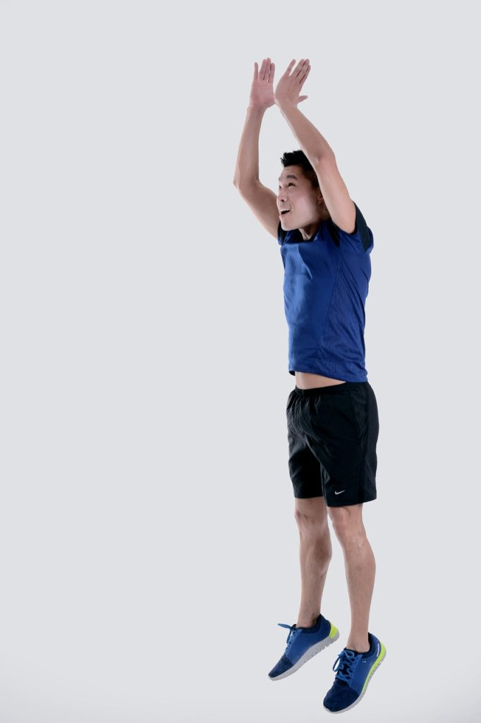 jumping exercise image